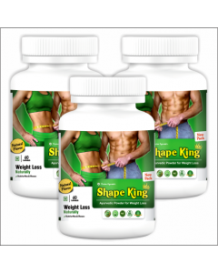 Kaahan Ayurveda Shape King-60Capsules Pack of 3pc