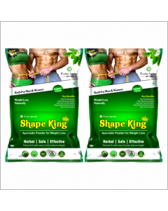 Kaahan Ayurveda Shape King Powder-150gm Pack of 2pc