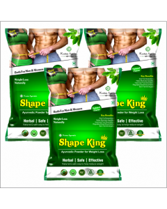 Kaahan Ayurveda Shape King Powder-150gm Pack of 3pc