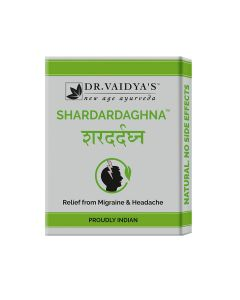 Dr. Vaidya's Shardardaghna Pills Pack of 3 Migraine & Headache-72 Pills