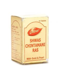 Dabur Shwas Chintamani Ras (Gold) 30 Tabs