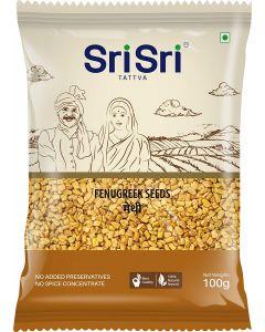 Sri Sri Fenugreek Whole (Methi) 100gm