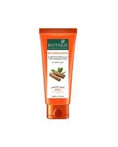 Biotique Sunflower Matte Gel Sunscreen Spf50, Orange-50ml