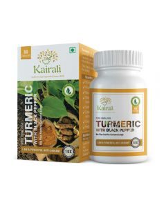 Kairali Turmeric with Black Pepper Capsules 500 mg-60cap