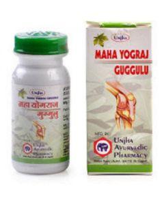 Unjha Mahayograj Guggulu-30tab Pack of 2pc