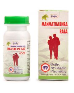 Unjha Manmathabhra Rasa-20tab pack of 2pc