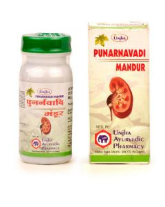 Unjha Punarnavadi Mandur-40tab Pack of 2pc