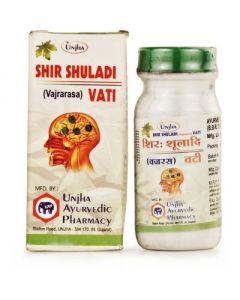 Unjha Shirshuladi (Vajrarasa) Vati-40tab pack of 2pc