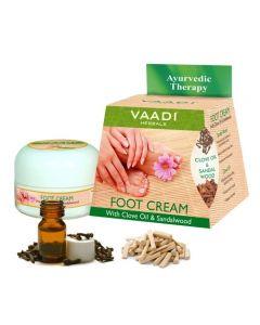 Vaadi Herbals Foot Cream - Clove & Sandal Oil-150 gms