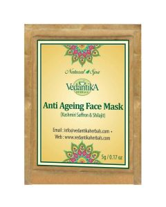 Veadtika Hearbals Anti ageing face mask (with saffroan and shilajit)