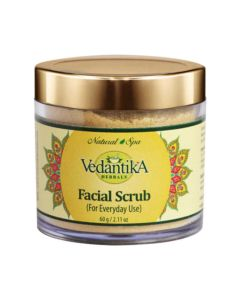 Vedatika Hearbals Facial scrub-60gm