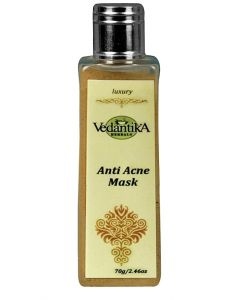 Vedatika Herbals Ayurvedic Anti acne Mask-70gm