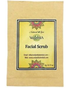 Vedatika Hearbals facial scrub-5gm