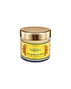 Vedatika Hearbals Anti ageing Mask (with saffron and Shilajit)-60gm