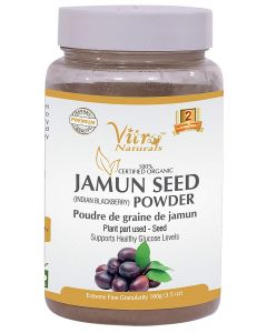 Vitro Naturals Certified Organic Jamun Powder-100gm