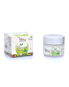 vitro Premium Aloe Foot & Toe Cream-100gm