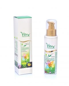 vitro Premium Aloe Hand & Body Moisturizing Lotion-100gm
