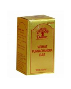 Dabur Vr-Purnachand Ras (Gold) 25tab