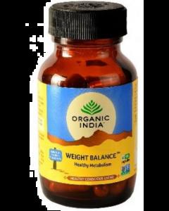 Organic India Weight Balance Capsules 60 Capsules