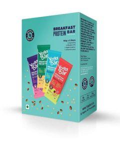 Yogabar Breakfast Bar-Variety Pack Protein Bars-6pc