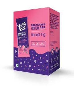 Yogabar Breakfast Bar - Apricot Fig Protein Bar-6pc