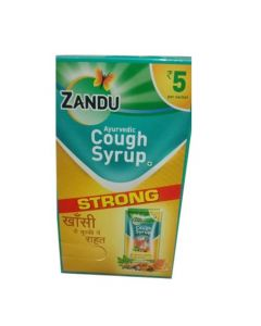 Zandu Ayurvedi Cough Syrup-8ml pack of 15pc