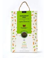 Butterfly Ayurveda Suprabhat Chai with Darjeeling Green Tea Leaves-40gm-20 tea bags