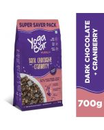 Yogabar Wholegrain Muesli-Dark Chocolate + Cranberry, 700gm