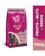 Yogabar Wholegrain Breakfast Muesli-Fruit Nuts & Seeds-700gm