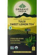 Organic India Tulsi Sweet Lemon Tea-25 Tea Bags