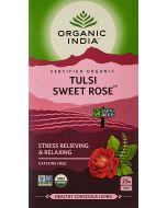 Organic India Tulsi Sweet Rose-25 Tea Bags