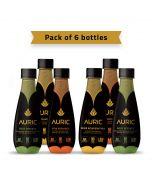 Auric Ayurvedic Beauty & Wellness Beverage 250ml-pack of 6pcs