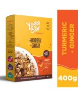 Yogabar Wholegrain Breakfast Muesli-Turmeric & Ginger 400gm