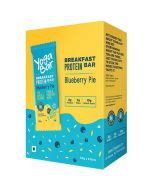 Yogabar Breakfast Bar - Blueberry Pie Protein Bar-6pc