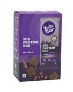 Yogabar Whey Protein Bar Chocolate Brownie 360gm-6pc